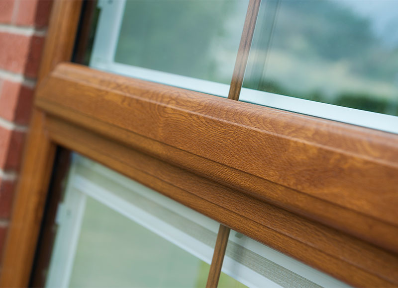 Double glazing is the minimum requirement in every home...