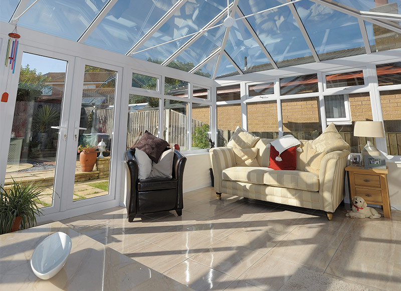No other company makes conservatory buying so easy...